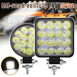 凱銳達 工作燈 高亮度 超亮眼 鷹眼燈 日行燈 燈泡 LED 牛眼燈 探照燈 車頭燈 汽車工作燈 27W 42W
